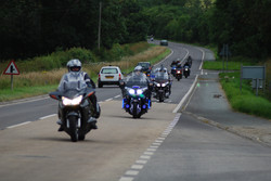 Jubilee Motorcyle Run. 070