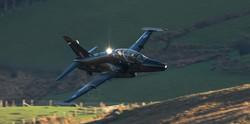 Hawk Strobe In The Mach Loop
