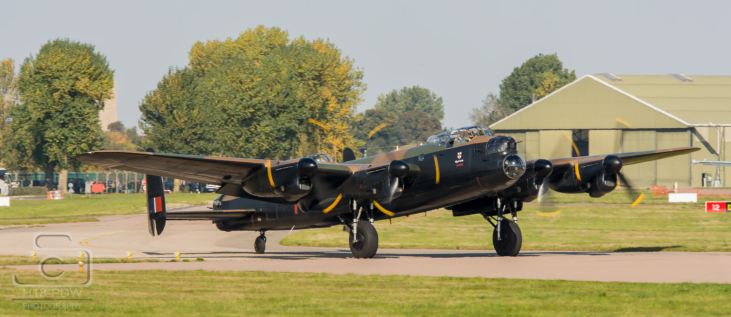 Lancaster Bomber Coningsby