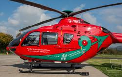 Wales Air Ambulance (Welshpool)