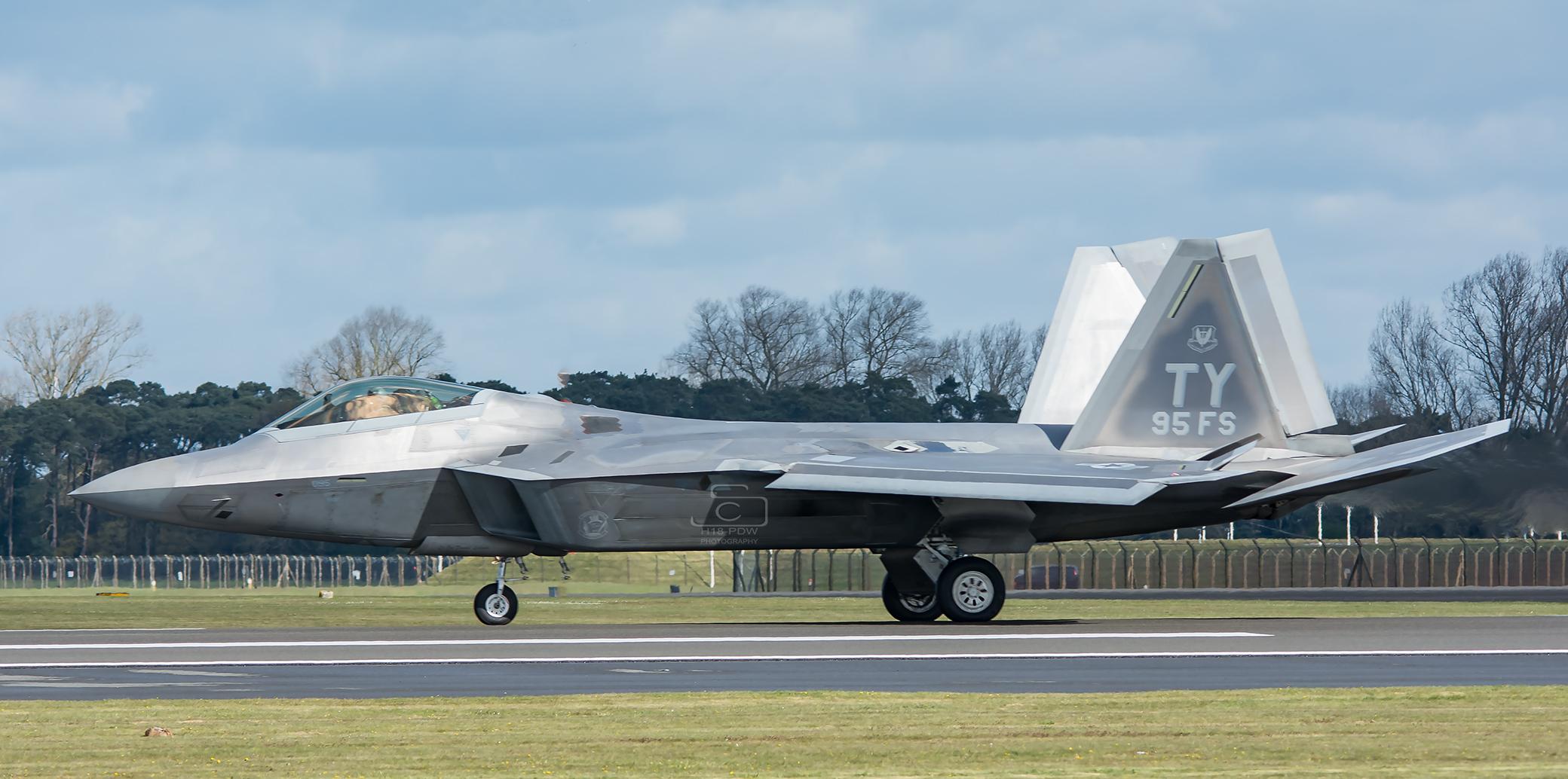 F22 Raptor Lakenheath