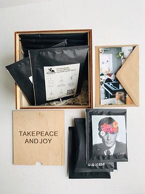 Дрип-пакеты 15шт в деревянной коробке