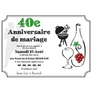 Graphic Design - Wedding Anniversary