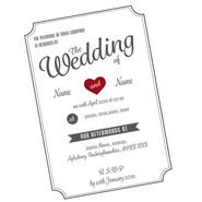 Graphic Design - Wedding Invitations