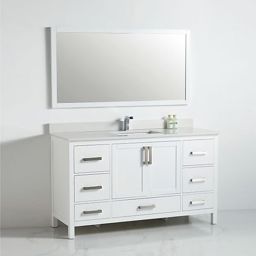 Bathroom Vanity 1260 (Single Sink)