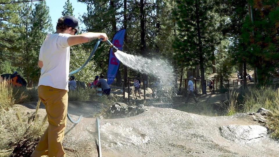 Sweeping and watering tutorial