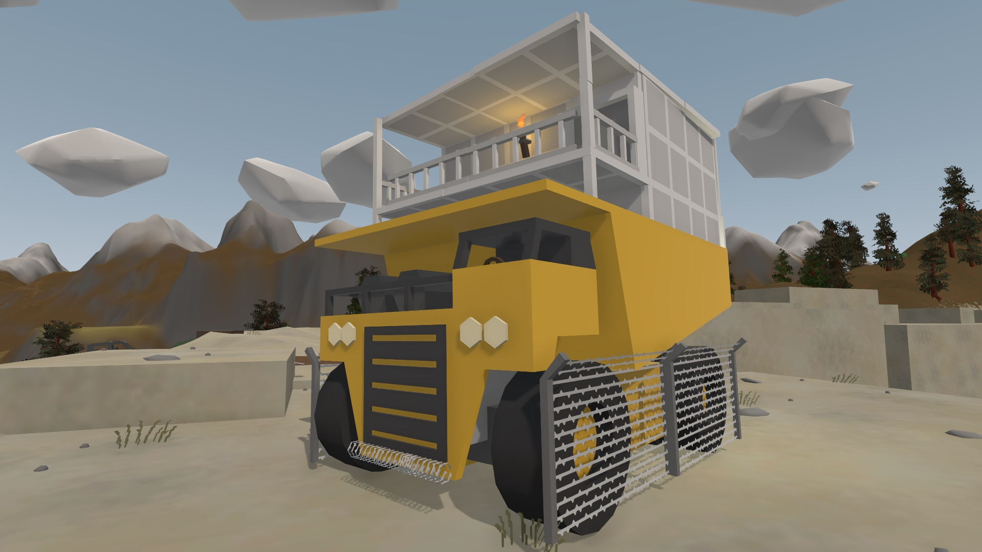 Dump Truck Base