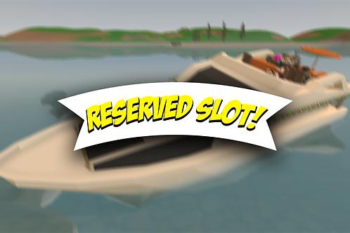 Reserved Slot