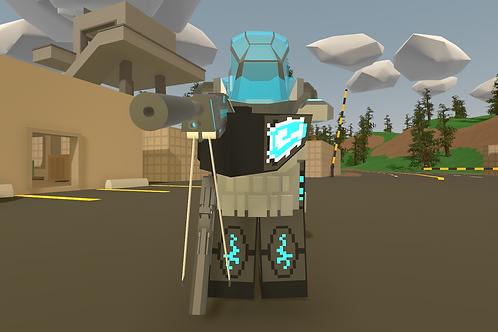 Futuristic Juggernaut