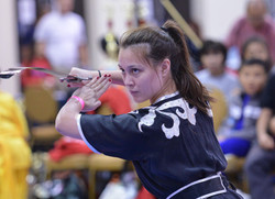 Wushu Sword Competition