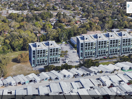 What does a 7 Story Apartment Complex Look Like in a Single Story neighborhood?