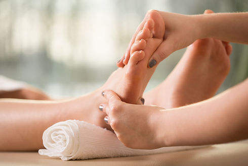 Sweet Sole Music Foot Massage, for those tired sore feet.