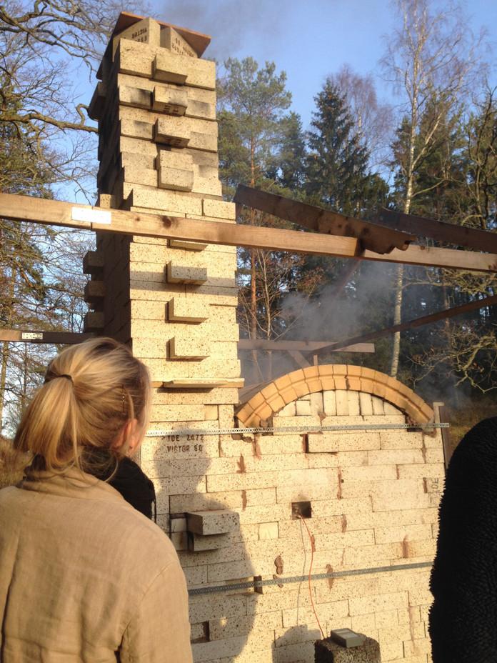 Wood firing friday
