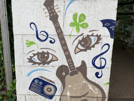 On Hyndford Street - The Van Morrison Belfast Walking Trail