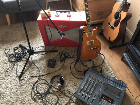 Recording my new album on tape