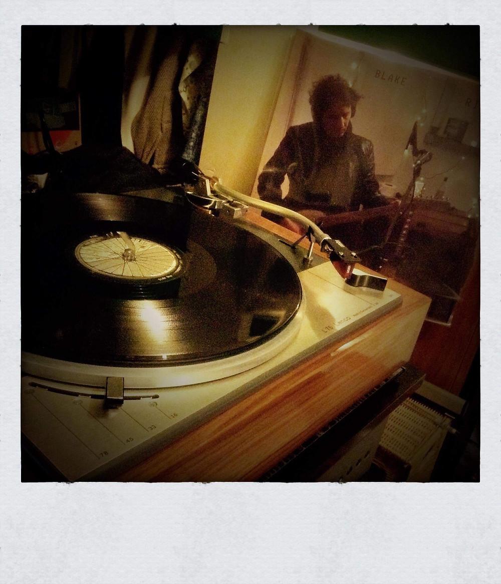 RIDE on the Vinyl Junkie's Lenco