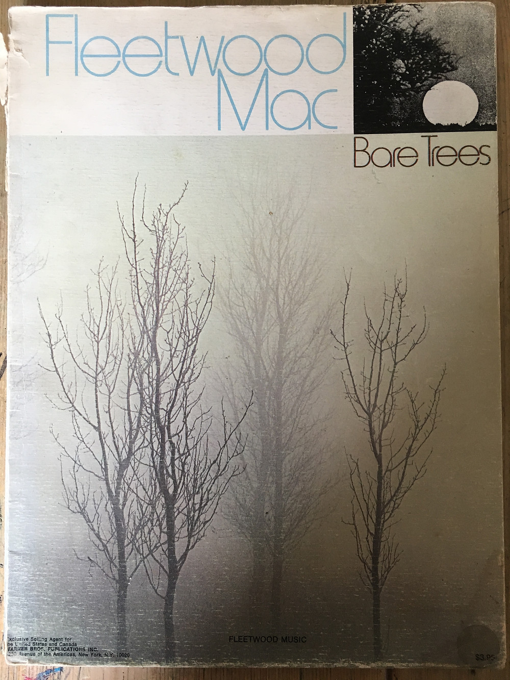 Bare Trees Music Book