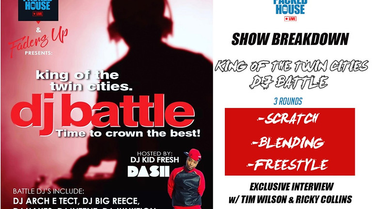 DJ Battle | King of the Twin Cities