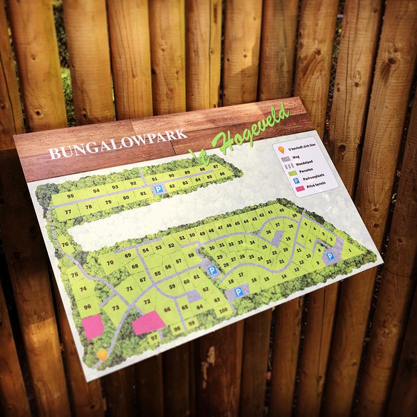 Plattegrond Bungalowpark