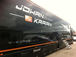 Vrachtwagen trailer Johan Kraan