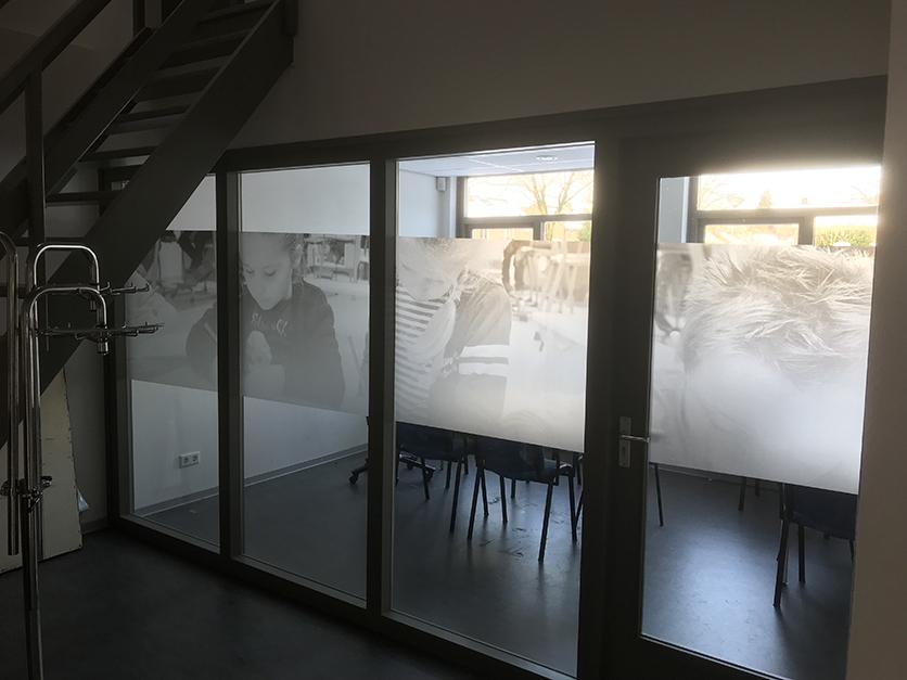 Raambelettering Gabriëlschool