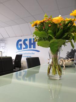 Wandprint GSH kantoor