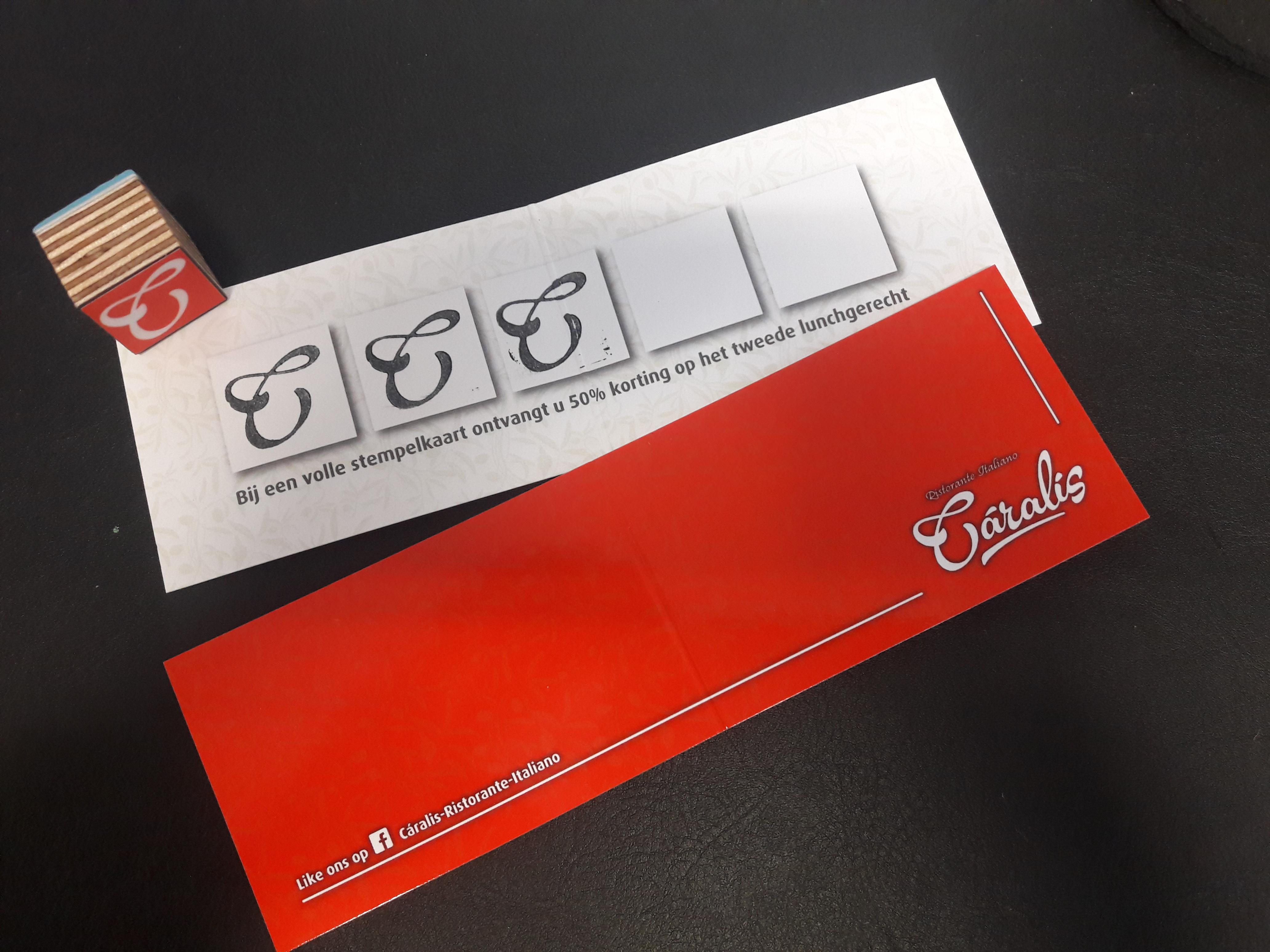 Stempelkaart caralis