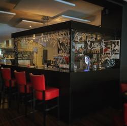 Hygieneschermen Caralis restaurant