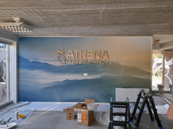 Athena wandvullend behang