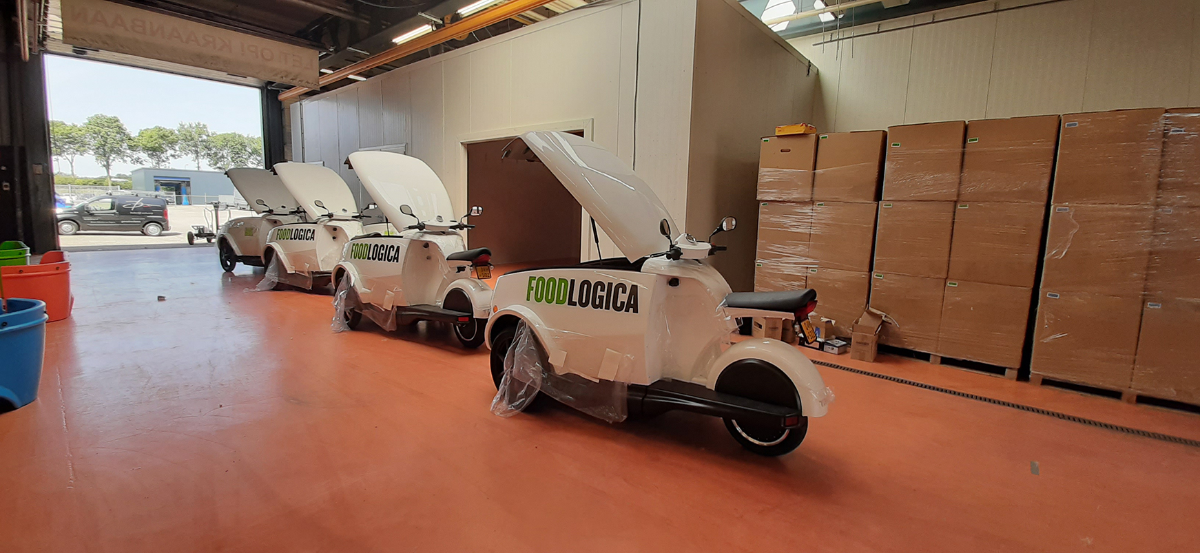 Tripl wagenpark Foodlogica