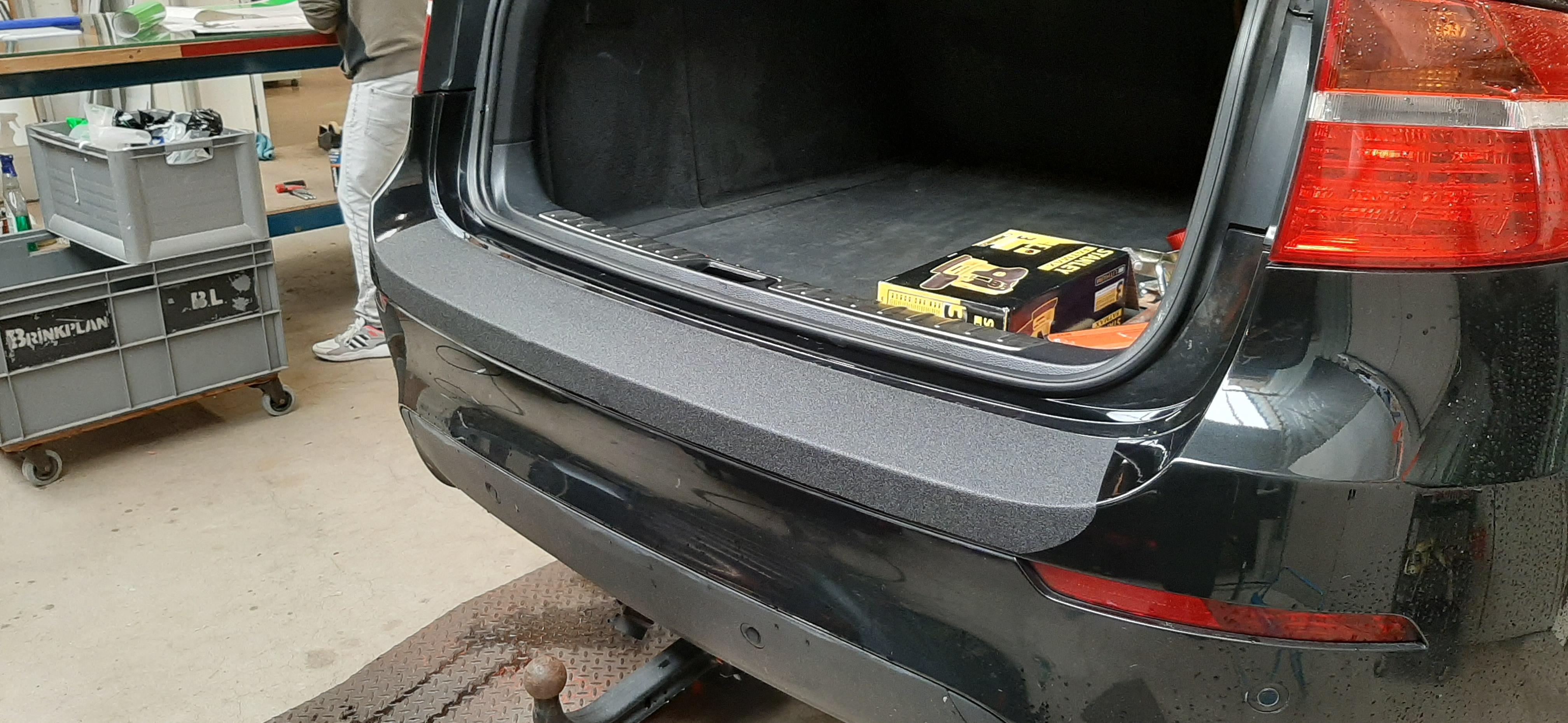 Bumper bescherming met gripfolie