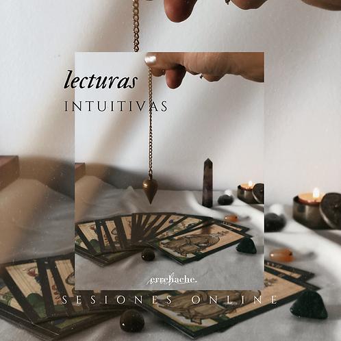Lecturas intuitivas - tarot/oráculo