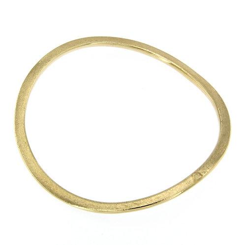 BR1553G stack bangles Golden Silver