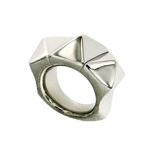 AN6643B-Silver Ring-Studio 54 Collection