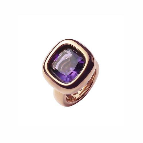 AN9301R-086 Golden Violet Quartz Ring