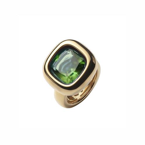 AN9301G-069 Green Quartz Ring
