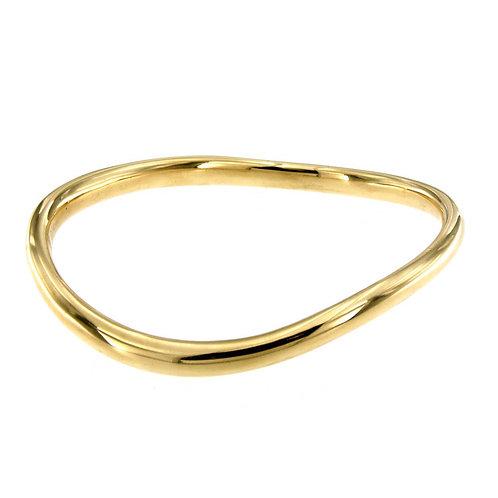 BR4537G stack bangles Golden Silver