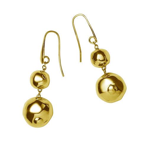 OR8556G Golden Earrings
