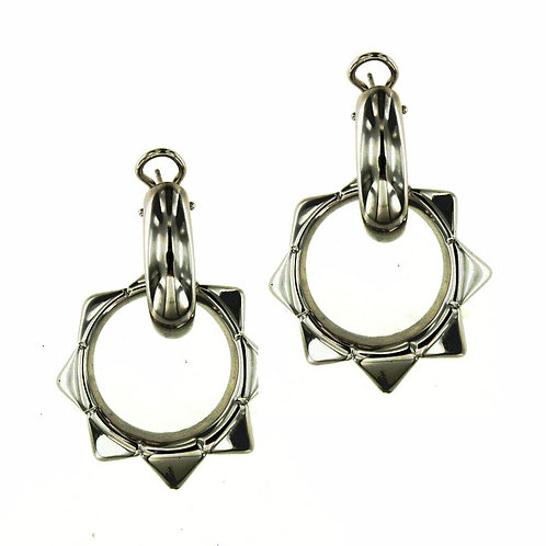 OR9262N Black Rhodium Earring Studio 54 Collection