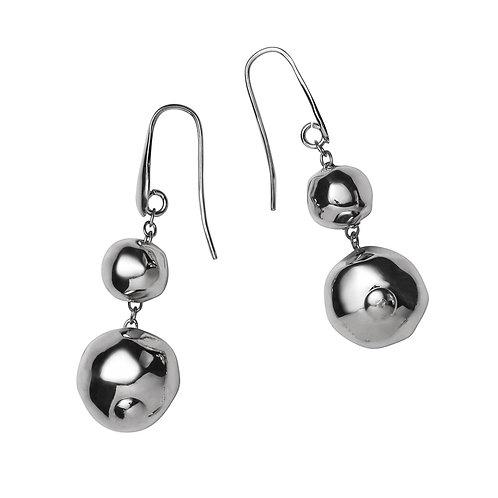 OR8556B Rhodium Earrings