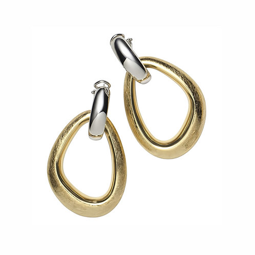 ORPS9090Gb Gold/Silver Earrings