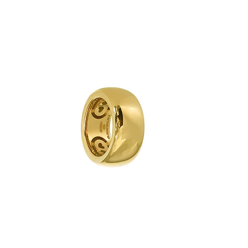 Glossy Gold Bands from 6 to 14mm H.
