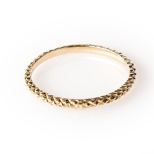 BR5764G-Golden Silver Bangle Studio 54 Collection