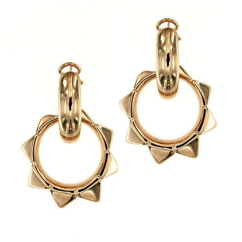 OR9262R Golden Rosè Silver Earring Studio 54 Collection