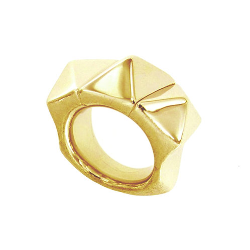 AN6643G-Golden Silver-Ring-Studio-54-Collection
