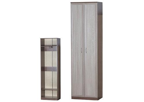 Шкаф для одежды 2-х дверный (из состава набора мебели для прихожей)