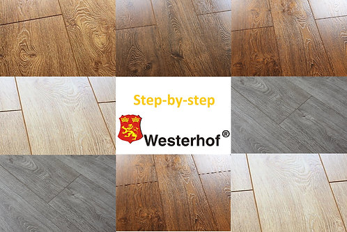 Ламинат Westerhof Step-by-step 34 класс, 8 мм