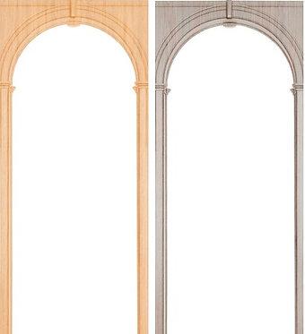 Арка Палермо (700-1300), 70 мм, ПВХ (Арсенал)