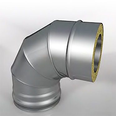 Отвод 87° Термо (диаметр 150/210 мм, толщина 0.5 мм)