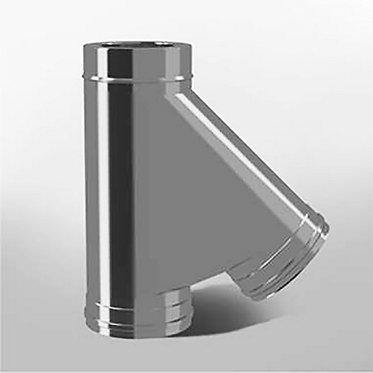 Тройник 45° Термо (диаметр 150/210 мм)